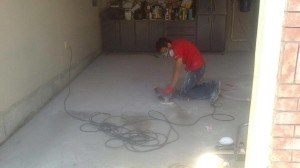 epoxy coating garage