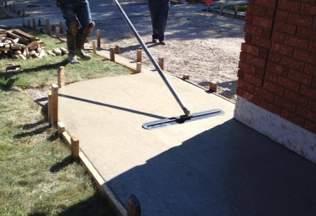 Residential Concrete Walkways
