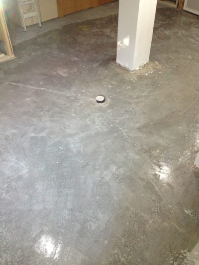 residential concrete floor work jordan group construction