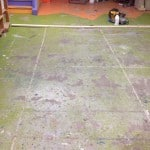 Flake System Flooring Installation