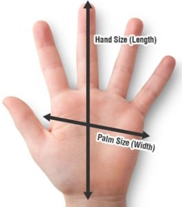 choosing safer hand tools: hand and palm size