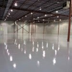 concrete surface epoxy 100% solids floor coating