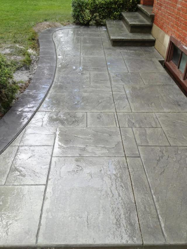 stamped concrete5