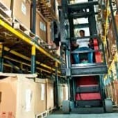 saving space in warehouse