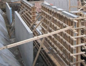 complex concrete - framing